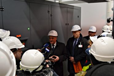 Szczecin Shipyard's Cleaning and Painting Centre equipped with a modern, ecological air compressor station