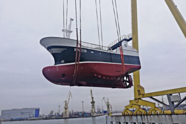 Another launch in Szczecin Shipyard